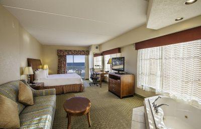 Oceanfront room at Hilton Garden Inn Outer Banks/Kitty Hawk