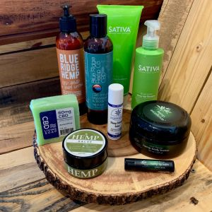 CBD Self Care Products at House of Hemp OBX