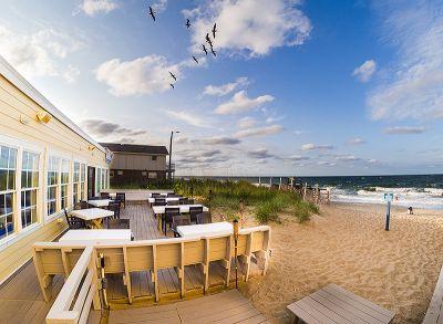 Beachside Bistro oceanfront view