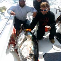 Country Girl Charters, Winter Tuna Fishing