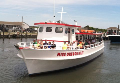 Miss Oregon Inlet Head Boat Fishing, Morning Fishing Trip