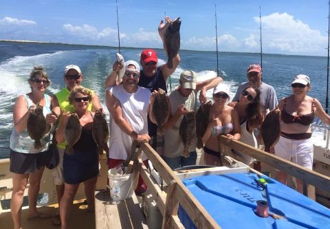 Jill Louise Headboat, Headboat Fishing