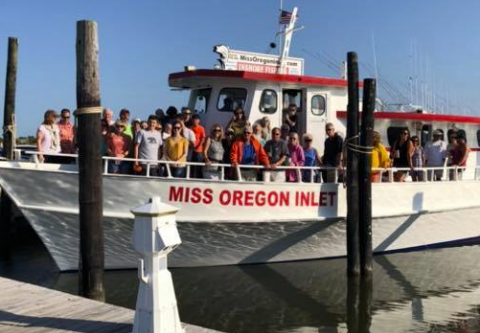Miss Oregon Inlet Head Boat Fishing, Twilight Fishing Cruise