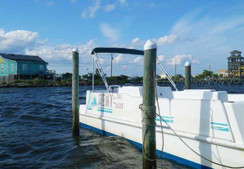 Fishing Unlimited Outer Banks Boat Rentals, 26 ft. Pontoon Boat Rental
