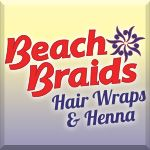 Beach Braids Hair Wraps & Henna